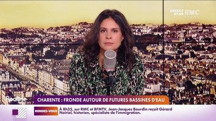 RMC chez vous : Charente, Fronde autour de futures bassines d'eau - 28/09