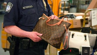 How 26,000 counterfeit products are seized and destroyed at JFK Airport