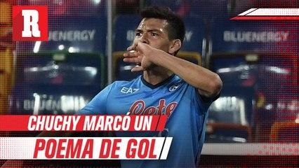 Espectacular gol de Chuchy Lozano ante el Udinese