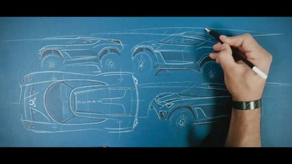 CUPRA Tavascan Extreme E Concept - la última tecnología nace…a lápiz