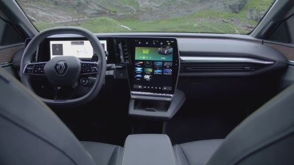 Der neue Renault Mégane E-TECH Electric - Wohnliches Interieur, hoher Akustikkomfort