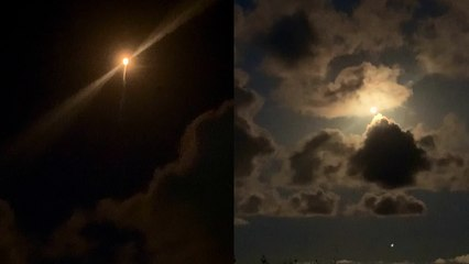 'Stunning look at the momentous launch of Inspiration4, SpaceX's innovative mission'