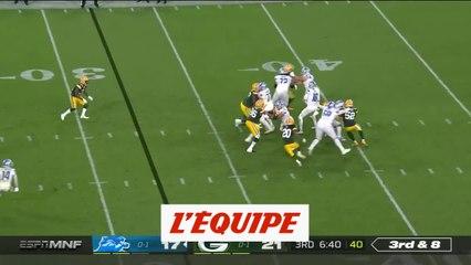 Le résumé de Green Bay Packers - Detroit Lions - Foot US - NFL