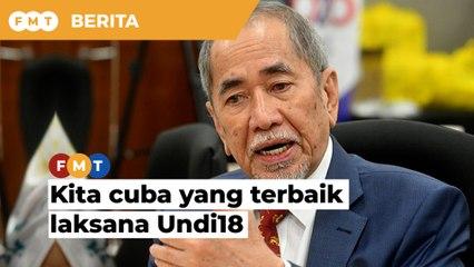 Kita cuba yang terbaik laksana Undi18, daftar pemilih automatik, kata Wan Junaidi