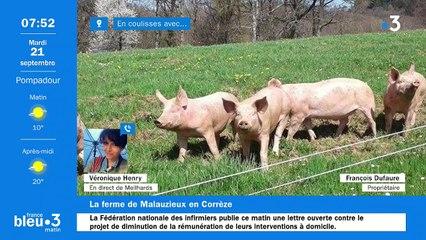 21/09/2021 - Le 6/9 de France Bleu Limousin en vidéo