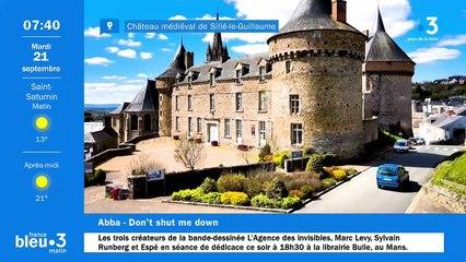 21/09/2021 - Le 6/9 de France Bleu Maine en vidéo
