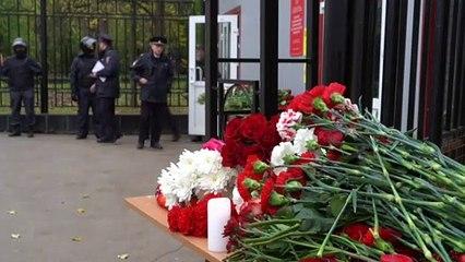 Russie : après une tuerie à l'université, le choc et le deuil à Perm