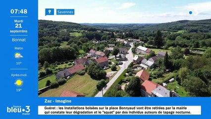 21/09/2021 - Le 6/9 de France Bleu Creuse en vidéo