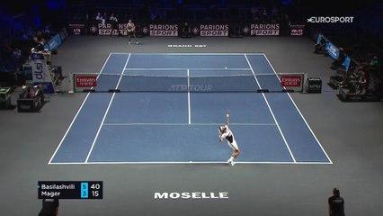 Basilashvili qualifié pour le 2e tour face à Mager : Le résumé du match