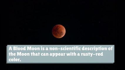 What's a Blood Moon?