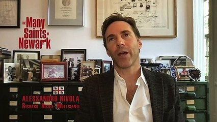 The Many Saints Of Newark - Exclusive Interview With Alessandro Nivola & Michela De Rossi