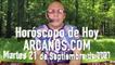 HOROSCOPO DE HOY de ARCANOS.COM -  Martes 21 de Septiembre de 2021