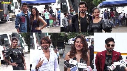 #DivyankaTripathi, #ShwethaTiwari, #AnushkaSen, #ArjunBijlani, #RahulVaidya On The Sets Of KK11