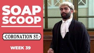 Coronation Street Soap Scoop! Imran continues to hide a secret