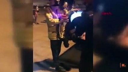 İstanbul'da tarihi topun içine sıkışan kişiyi itfaiye kurtardı