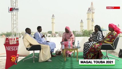 Plateau Magal Touba 2021 - Daara yi avec Mamour Cissé - 21 Septembre