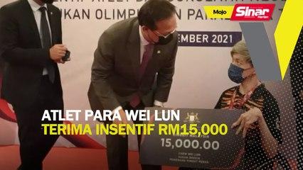 Atlet para Wei Lun terima insentif RM15,000