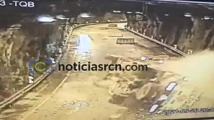Video   Así fue el momento de la explosión en el túnel de Quebrada Blanca
