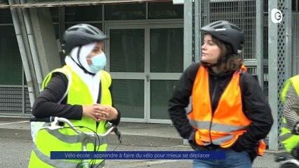 Reportage - La vélo-école, apprendre à faire du vélo pour mieux se déplacer - Reportage - TéléGrenoble
