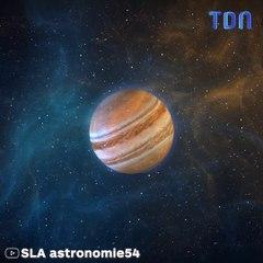 Quelque chose vient de s'écraser sur la planète Jupiter