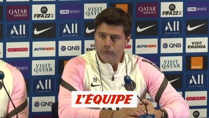 Pochettino : «Messi ? Les grands champions veulent être sur la pelouse» - Foot - L1 - PSG