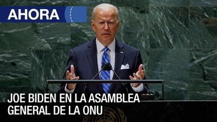 Intervención de Joe Biden en la Asamblea General de la ONU - #21Jun - Ahora
