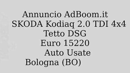SKODA Kodiaq 2.0 TDI 4x4 Tetto DSG