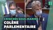 """L'opposition demande des comptes au gouvernement sur le """"Trafalgar"""" des sous-marins"""
