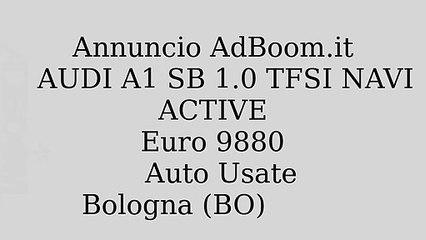 AUDI A1 SB 1.0 TFSI NAVI ACTIVE