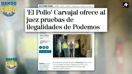 El 'Pollo' Carvajal tira de la manta al señalar a Pablo Iglesias y las irregularidades de Podemos