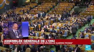Discours à l'ONU : pour Joe Biden, l'UE est
