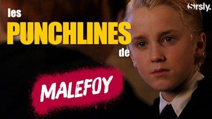 HARRY POTTER : Les Punchlines de Malefoy