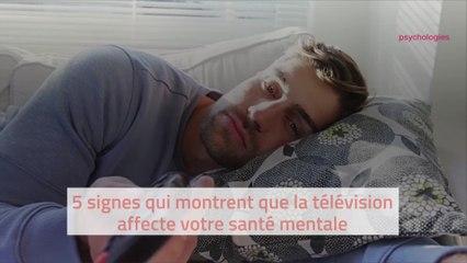 5 signes qui montrent que votre télévision affecte votre santé mentale