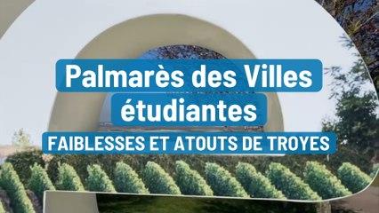 Palmarès des Villes étudiantes, faiblesses et atouts de Troyes