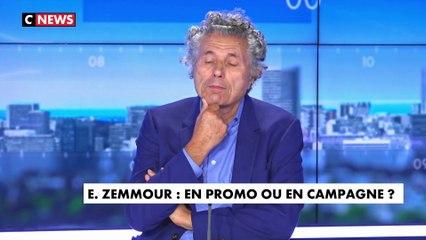 Gilles-William Goldnadel sur les derniers sondages pour la présidentielle : «29% considèrent que le 1er sujet à traiter c'est l'immigration, ça fait beaucoup de moustaches à dessiner pour les humoristes d'extrême gauche»
