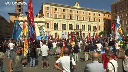 Alitalia: nuove proteste dopo la rottura delle trattative sul contratto di lavoro