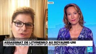 Assassinat de Litvinenko : la Russie responsable de la mort de l'ex-espion