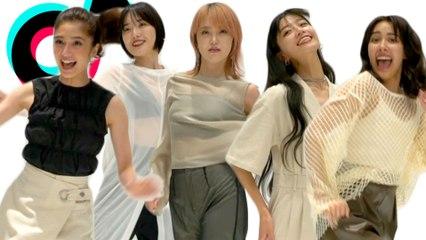 Fantastic Jpop Girl Group FAKY Tries Super Hard TikTok Challenges!   Cosmopolitan