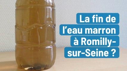 La fin de l'eau marron à Romilly-sur-Seine?