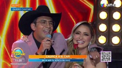 Tuvimos un emotivo momento con El Capi cantando 'Te quiero así'.   Venga La Alegría