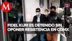Sin poner resistencia_ así fue la detención de Fidel Kuri en CdMx