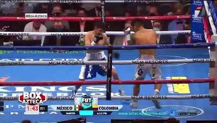 ¡Mark Magsayo manda a Julio Ceja a la lona con brutal impacto!
