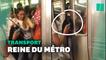 Cette New-Yorkaise déterminée a provoqué un débat sur le savoir-vivre dans le métro