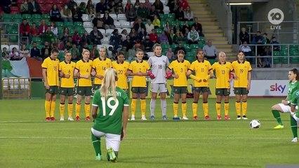 Matildas shocked in Kerr's 100th