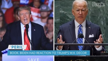 Biden Had a Four-Letter Reaction When He Found Trump's Giant Video Golf Setup in the White House: Book