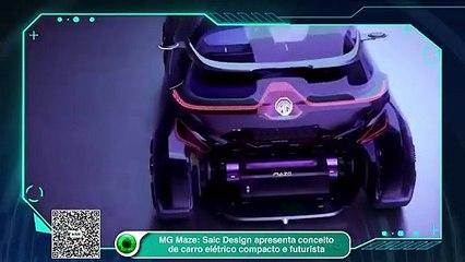MG Maze: Saic Design apresenta conceito de carro elétrico compacto e futurista
