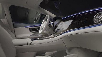 Der neue Mercedes-Benz EQE - Konsequente Digitalisierung und ungewöhnliche Materialien