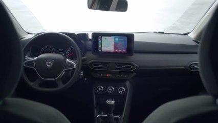 Neuer Dacia Jogger - Innenraum mit zahlreichen Staumöglichkeiten