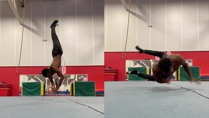 'Gymnast's SICK calisthenics combo will make your jaw drop'