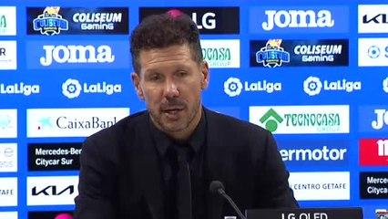 """Simeone: """"Depende de nosotros mejorar la intensidad"""""""